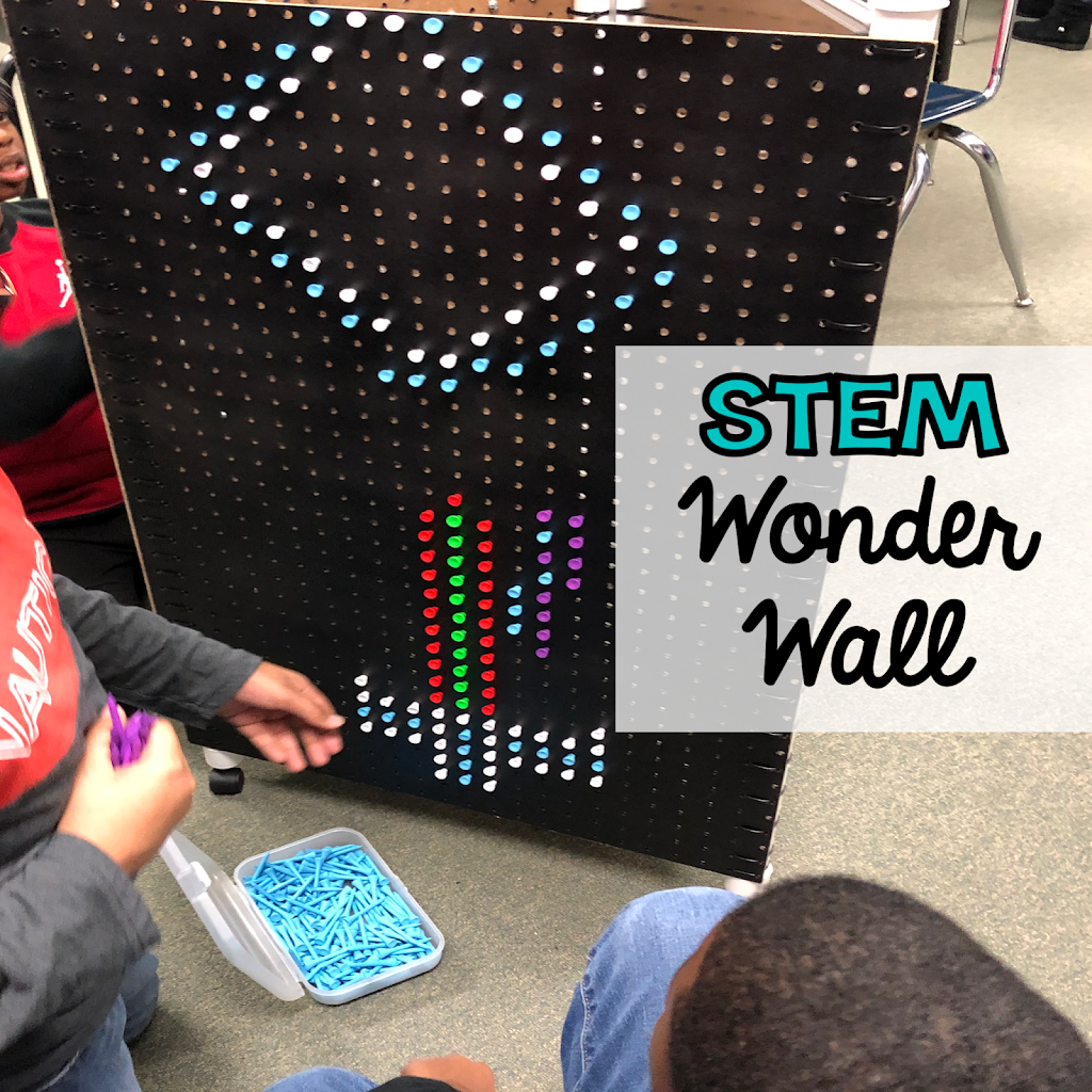 STEM Wonder Wall of Discovery! Perfect for Makerspace!